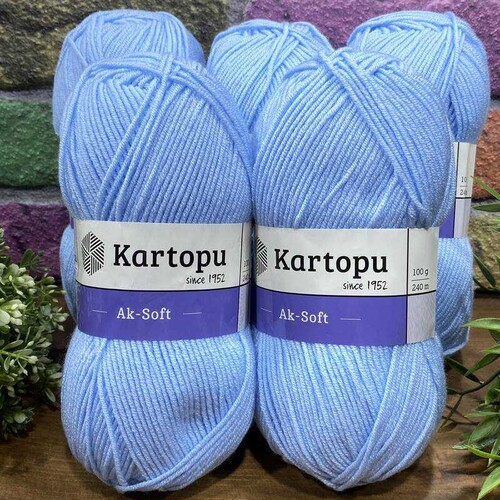 KARTOPU - (5 X 100) GR KARTOPU AKSOFT K544
