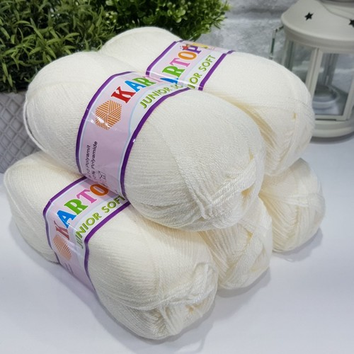 OUTLETYARN - (5X100 GRAM) KARTOPU 019 JUNIOR SOFT BEBE İPİ