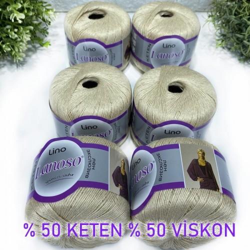 OUTLETYARN - (6 X 50 GRAM) LANOSO LİNO 905