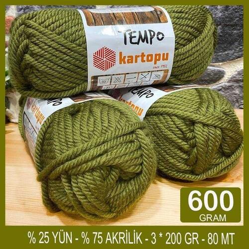 KARTOPU - (600 GR) KARTOPU TEMPO SERİ SONU İPLİK- 395
