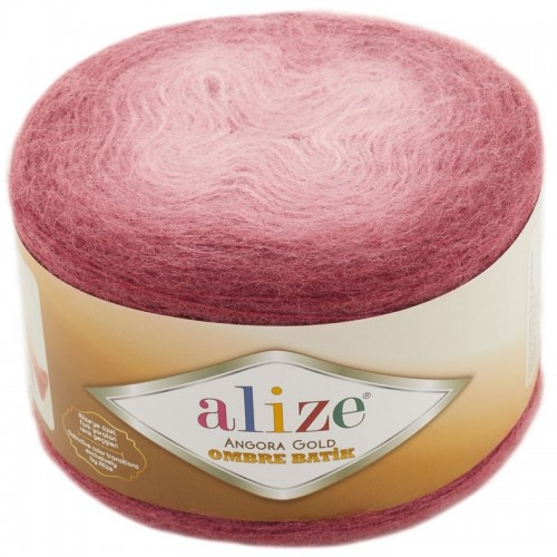 ALİZE - ALİZE ANGORA GOLD OMBRE BATİK 7247