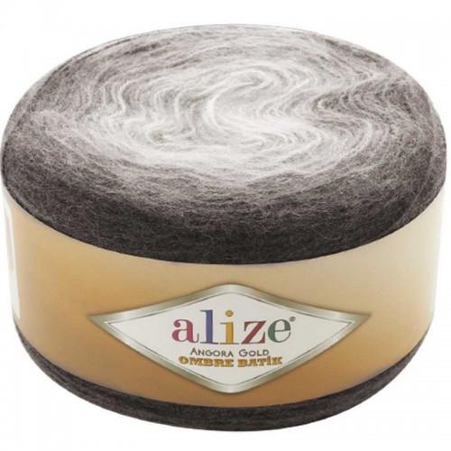 ALİZE - ALİZE ANGORA GOLD OMBRE BATİK 7267