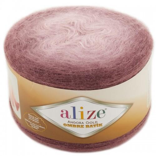 ALİZE - ALİZE ANGORA GOLD OMBRE BATİK 7295