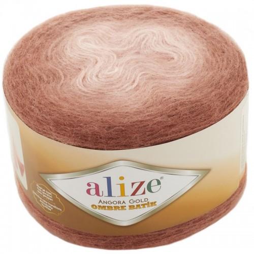 ALİZE - ALİZE ANGORA GOLD OMBRE BATİK 7302