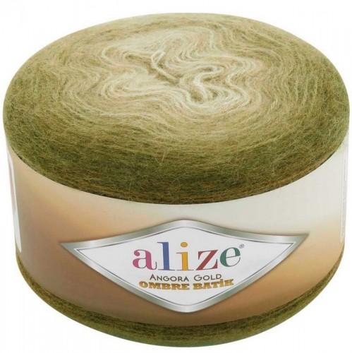 ALİZE - ALİZE ANGORA GOLD OMBRE BATİK 7355