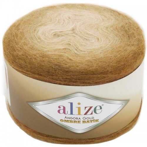 ALİZE - ALİZE ANGORA GOLD OMBRE BATİK 7356