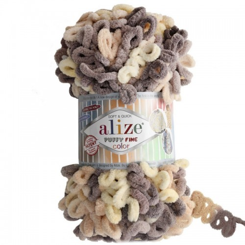 ALİZE - ALİZE PUFFY FİNE COLOR 6034