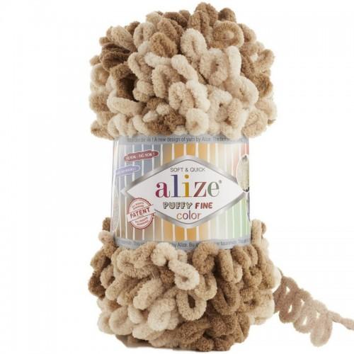 ALİZE - ALİZE PUFFY FİNE COLOR 6066