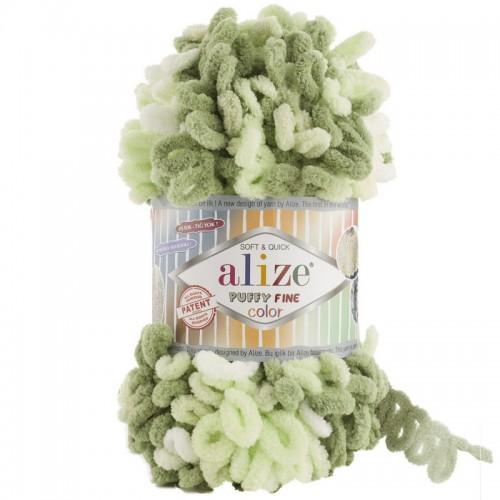 ALİZE - ALİZE PUFFY FİNE COLOR 6068