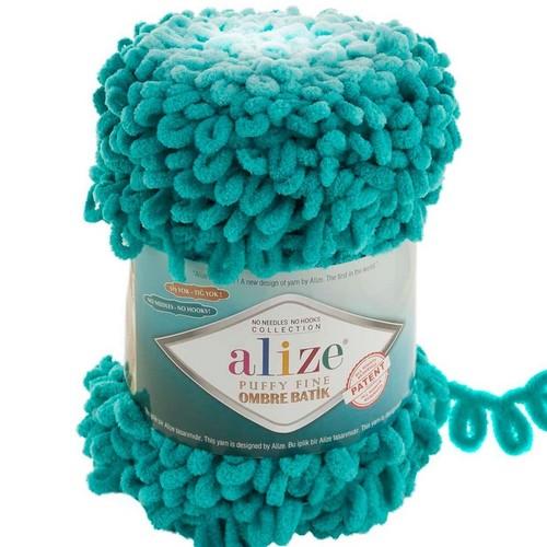 ALİZE - ALİZE PUFFY FİNE OMBRE BATİK 7246