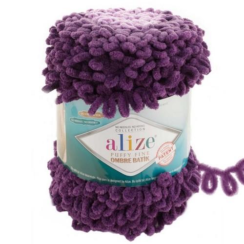 ALİZE - ALİZE PUFFY FİNE OMBRE BATİK 7277