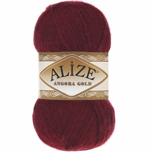 ALİZE ANGORA GOLD 57 BORDO