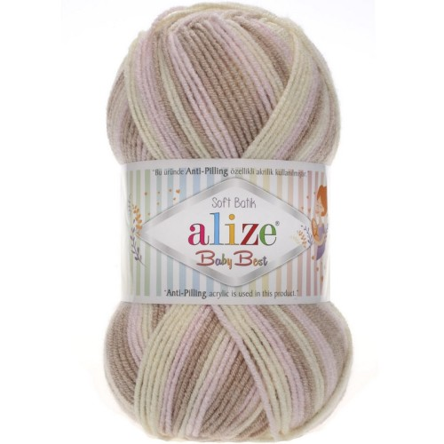 ALİZE - ALİZE BABY BEST BATİK 6656