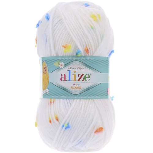 ALİZE - ALİZE BABY FLOWER 5380