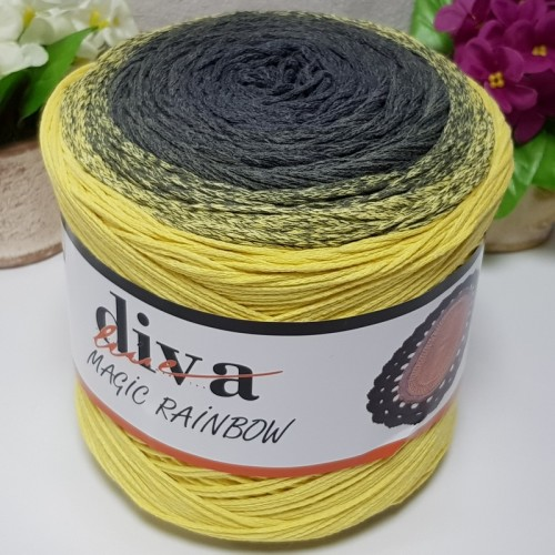 DİVA LİNE - DİVA COTTON MAKROME MAGİC RAİNBOW 05