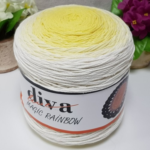 DİVA LİNE - COTTON MAKROME MAGIC RAINBOW 08