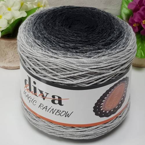 DİVA LİNE - DİVA COTTON MAKROME MAGİC RAİNBOW 10