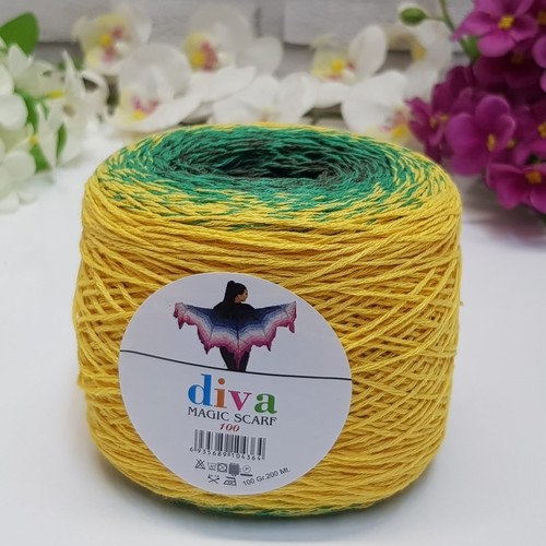 DİVA LİNE - DİVA MAGIC SCARF 100-04