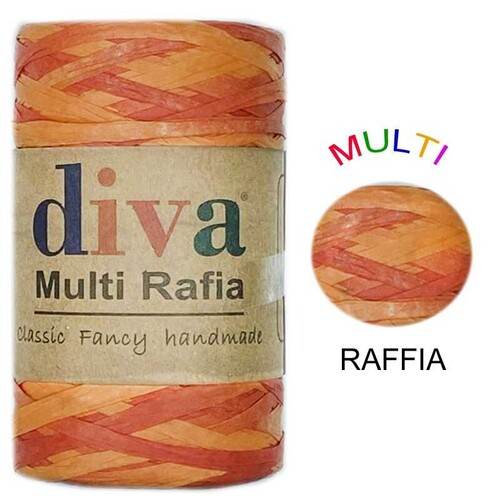 DİVA LİNE - DİVA MULTI RAFFIA 125 GR - MRF1