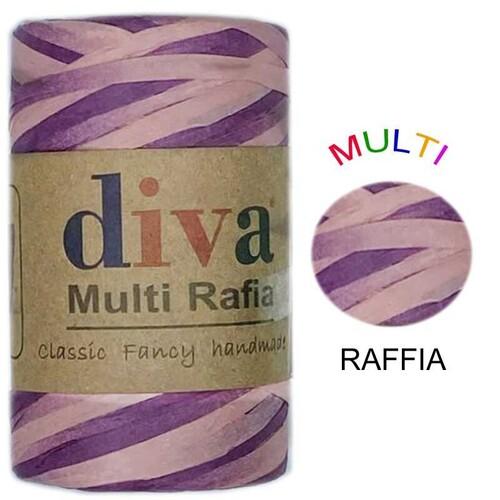 DİVA LİNE - DİVA MULTI RAFFIA 125 GR - MRF2