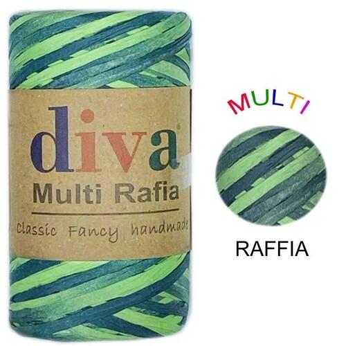 DİVA LİNE - DİVA MULTI RAFFIA 125 GR - MRF3