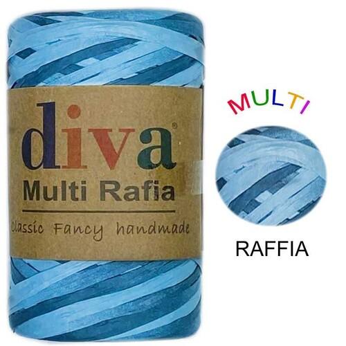 DİVA LİNE - DİVA MULTI RAFFIA 125 GR - MRF4