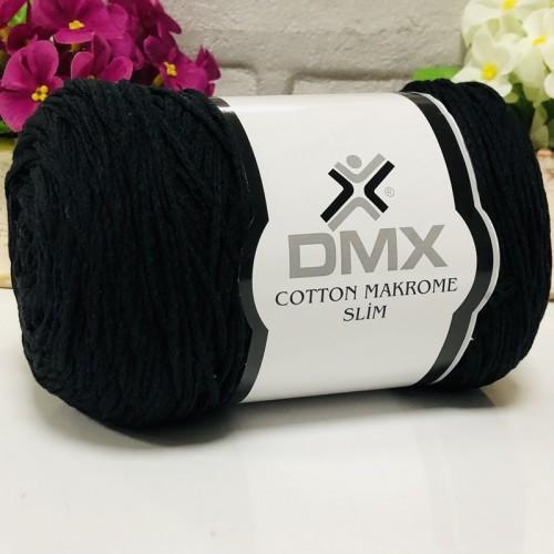 DMX - DMX COTTON MAKROME İNCE 2111 SİYAH