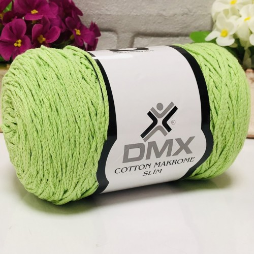 DMX - DMX COTTON MAKROME İNCE 2120 FISTIK YEŞİLİ