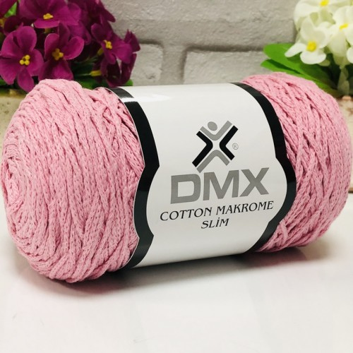 DMX - DMX COTTON MAKROME İNCE 2130 AÇIK PEMBE