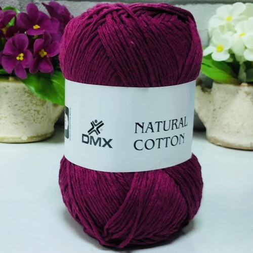 DMX - DMX NATURAL COTTON 333 KOYU FUŞYA