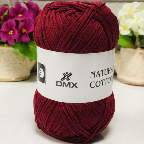 DMX - DMX NATURAL COTTON 999 BORDO