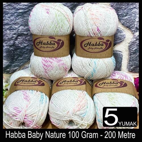 HABBA - (5X100) GRAM HABBA BABY NATURE 505
