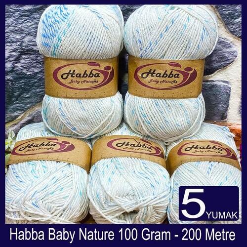 HABBA - (5X100) GRAM HABBA BABY NATURE 506