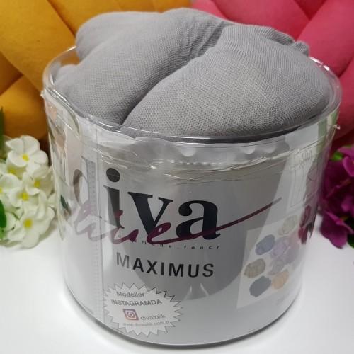 DİVA LİNE - DİVA MAXİMUS DEV İPLİK 195 GRİ