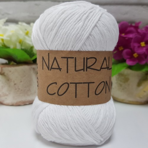 DİVA LİNE - NATURAL COTTON 2101 BEYAZ
