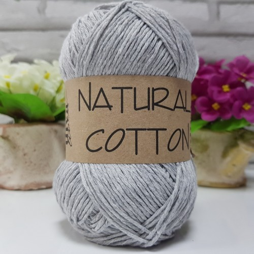 DİVA LİNE - NATURAL COTTON 2107 AÇIK GRİ