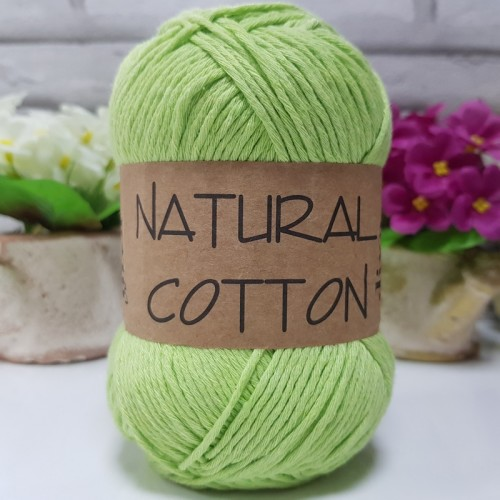 DİVA LİNE - NATURAL COTTON 2120 FISTIK YEŞİLİ