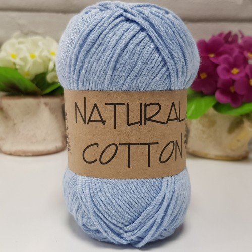 DİVA LİNE - NATURAL COTTON 214 BEBE MAVİ