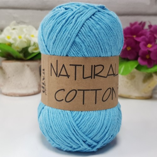 DİVA LİNE - NATURAL COTTON 280 AÇIK TURKUAZ