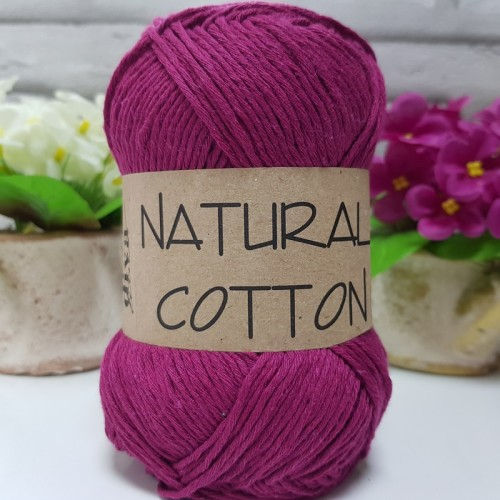 DİVA LİNE - NATURAL COTTON 333 KOYU FUŞYA