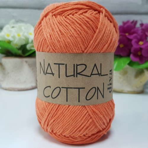 DİVA LİNE - NATURAL COTTON 979 PORTAKAL