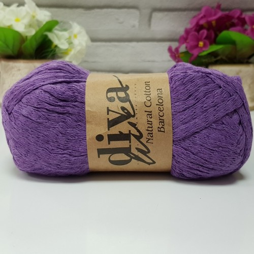 DİVA LİNE - NATURAL COTTON BARCELONA 188 MOR