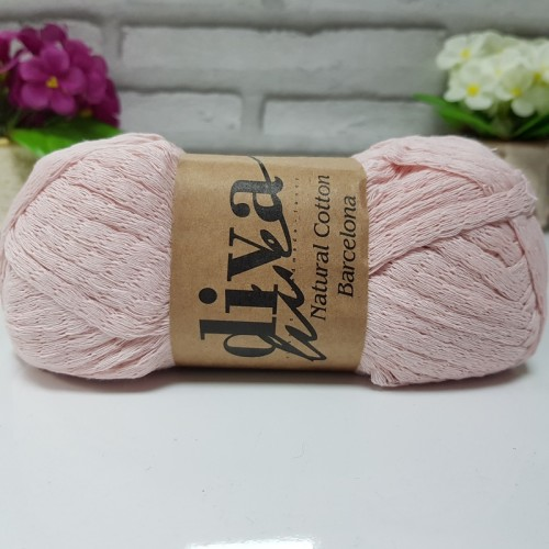 OUTLETYARN - DİVA NATURAL COTTON BARCELONA 1981 PUDRA