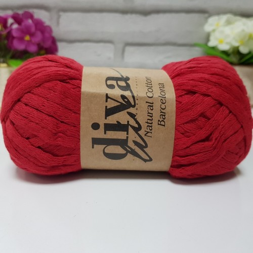 DİVA LİNE - NATURAL COTTON BARCELONA 2126 KIRMIZI