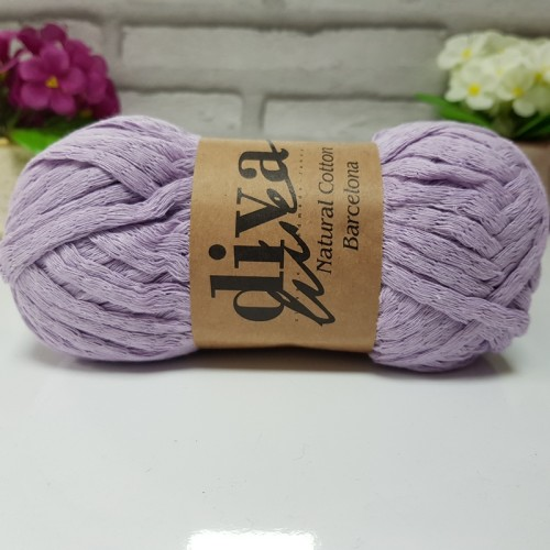 DİVA LİNE - NATURAL COTTON BARCELONA 2135 LİLA
