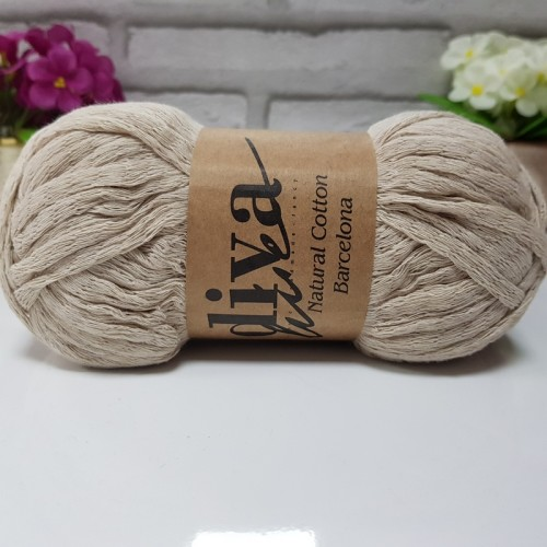 DİVA LİNE - NATURAL COTTON BARCELONA 2305 BEJ