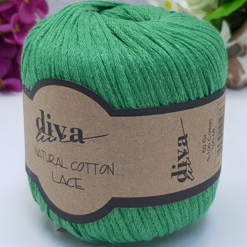 DİVA LİNE - DİVA NATURAL COTTON LACE LASE İPİ 2121 BENETTON
