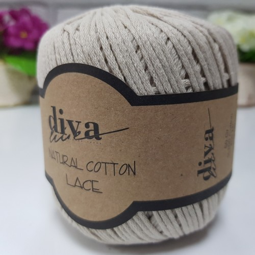 DİVA LİNE - DİVA NATURAL COTTON LACE 2305 BEJ