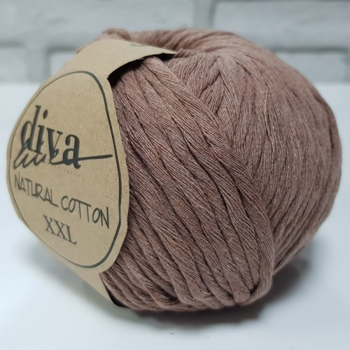 DİVA LİNE - DİVA NATURAL COTTON XXL 221 CAMEL