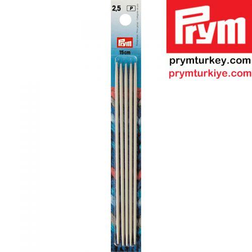 PRYM 191362 5 Lİ ÇORAP ŞİŞİ 15 CM. 2.50 MM